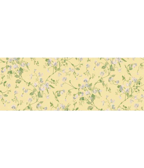 Cole-Son Sweet Pea Groen, Blauw, Geel 100/6029 Behang