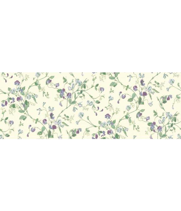 Cole-Son Sweet Pea Paars, Groen 100/6030 Behang
