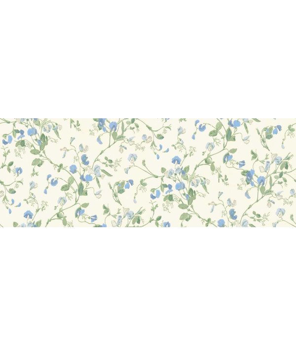 Cole-Son Sweet Pea Blauw, Groen, Wit 100/6031 Behang