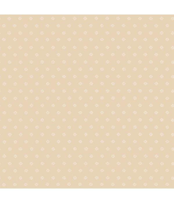 Cole-Son Victorian Star Oranje, Geel 100/7034 Behang
