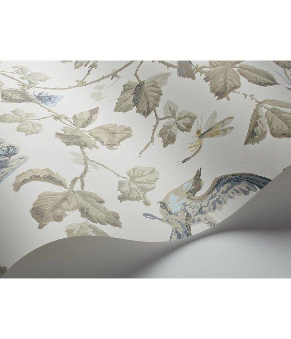 Cole-Son Winter Birds Geel, Grijs 100/2008 Wallpaper