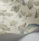 Cole-Son Winter Birds Linen (Linnen Wit) 100/2009 Behang