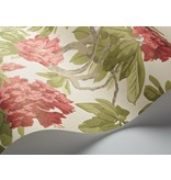 Cole-Son Bourlie Off White, Carmine (Groen, Rood) 99/4020 Wallpaper