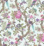 Cole-Son Fontainebleau Duck Egg Achtergrond, Rood, Roze, Fuchia 99/12051 Wallpaper