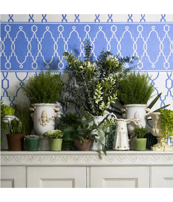 Cole-Son Parterre Border Blauw 99/3014 Wallpaper
