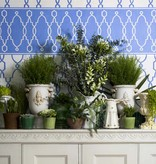 Cole-Son Parterre Border Charcoal / Antraciet Grijs 99/3015 Wallpaper