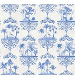 Cole-Son Rousseau Cobalt Blue 99/9037 Wallpaper