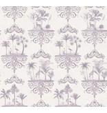 Cole-Son Rousseau Dove Grey, Licht Grijs, Wit 99/9038 Behang