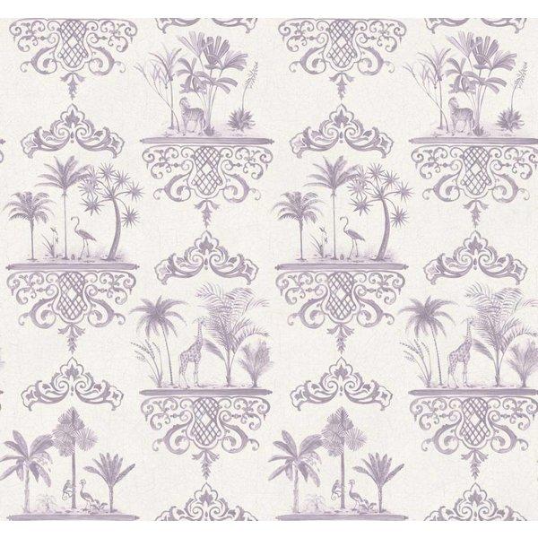 Rousseau Dove Grey, Licht Grijs, Wit 99/9038