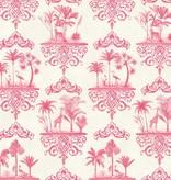 Cole-Son Rousseau Rose Pink, Roze, Wit 99/9041 Wallpaper