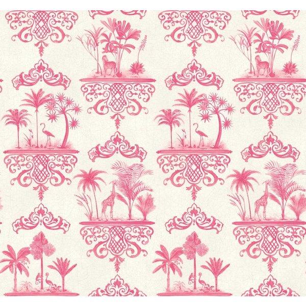 Rousseau Rose Pink, Roze, Wit 99/9041