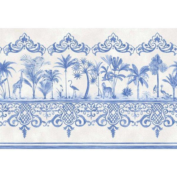Rousseau Cobalt Blue, Blauw, Wit 99/10042