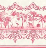 Cole-Son Rousseau Border Rose Pink, Roze, Wit 99/10046 Behang