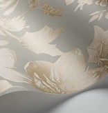 Cole-Son Tivoli Old Olive, Groen, Goud 99/7031 Wallpaper