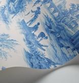 Cole-Son Villandry Cobalt Blue, Blauw, Wit 99/1001 Wallpaper