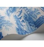 Cole-Son Villandry Cobalt Blue, Blauw, Wit 99/1001 Behang