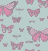Cole-Son Butterflies & Dragonflies Pink & Blue 103/15062 Behang