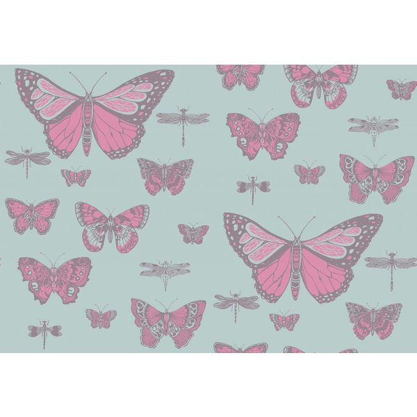 Butterflies & Dragonflies Pink & Blue 103/15062