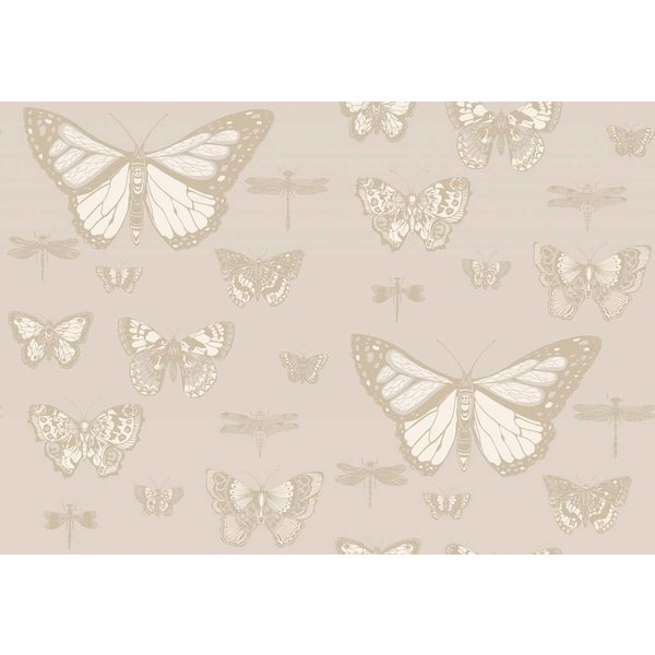 Butterflies & Dragonflies Grey (Grijs) 103/15064