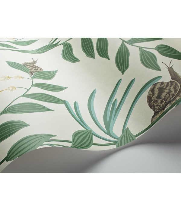 Cole-Son Secret Garden Groen, Wit, Bruin 103/9030 Wallpaper