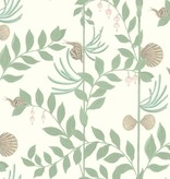 Cole-Son Secret Garden Groen, Wit, Bruin 103/9031 Behang
