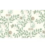 Cole-Son Secret Garden Groen, Wit, Bruin 103/9031 Wallpaper