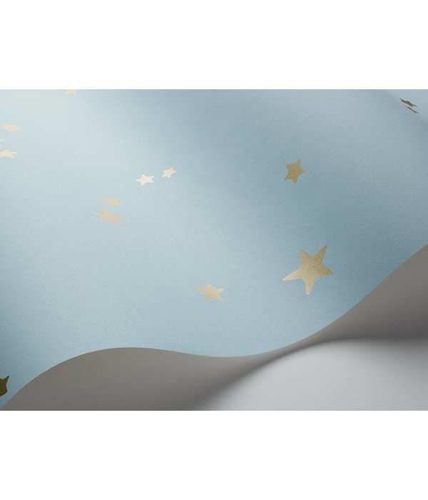 Cole-Son Stars Powder Blue (Poeder Blauw) 103/3016 Behang