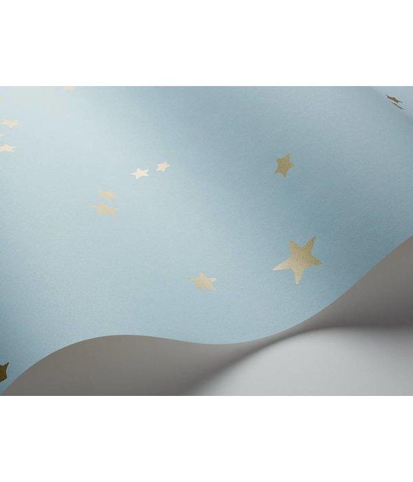 Cole-Son Stars Powder Blue (Poeder Blauw) 103/3016 Wallpaper