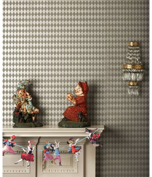 Cole-Son Titania Grey (Grijs) 103/14058 Wallpaper