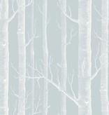 Cole-Son Woods Powder Blue (Zacht Blauw, Wit) 103/5022 Wallpaper