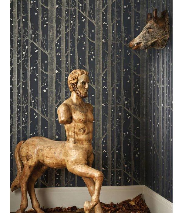 Cole-Son Woods & Stars Grey (Grijs) 103/11048 Wallpaper