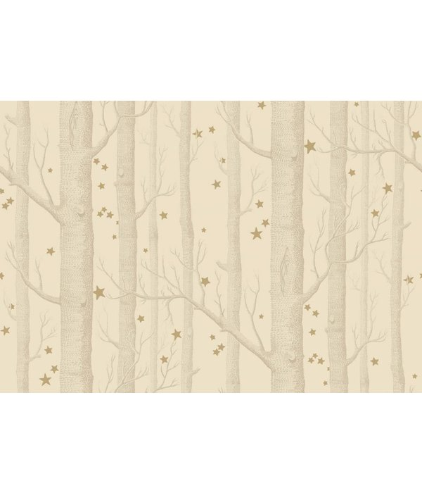 Cole-Son Woods & Stars Buff, Gold (Taupe, Goud) 103/11049 Wallpaper