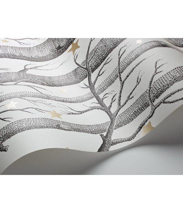 Cole-Son Woods & Stars Zwart, Wit, Met Gouden Sterren 103/11050 Wallpaper