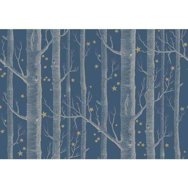 Woods & Stars Midnight (Blauw, Wit, Goud) 103/11052