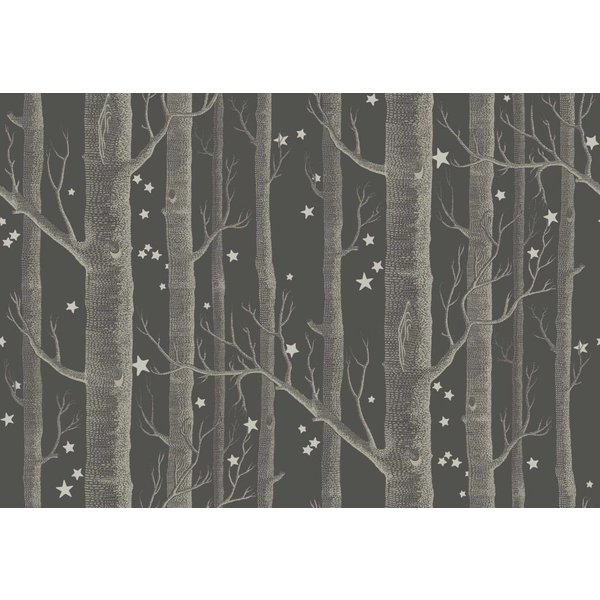 Woods & Stars Charcoal (Antraciet Grijs) 103/11053