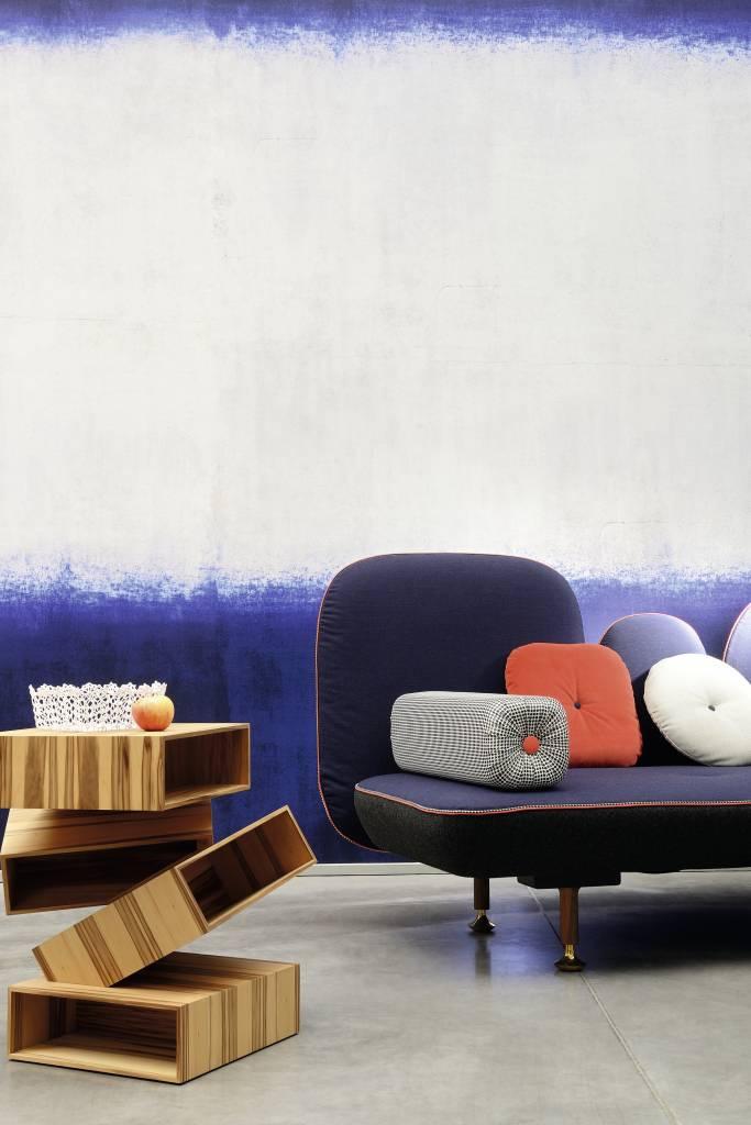 Behang Sirtaki blauw paars grijs wit TP27002 - De Mooiste Muren