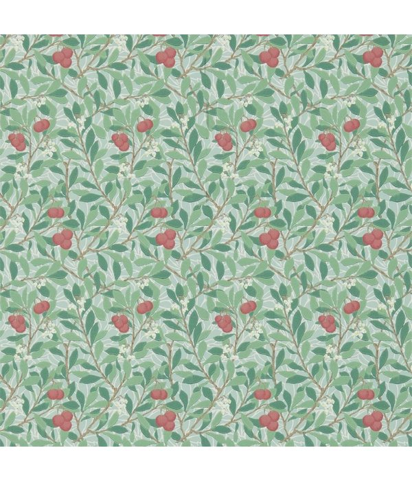 Morris-Co Arbutus Thyme/Coral 214719