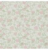 Morris-Co Jasmine Blossom Pink/Sage 214725