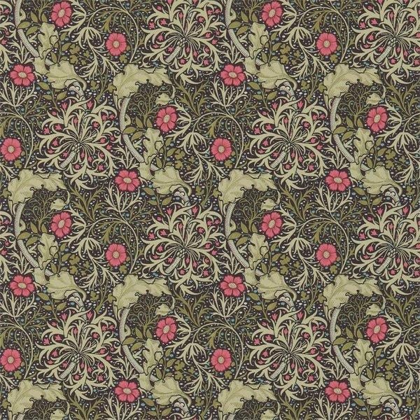 Morris Seaweed Ebony/Poppy 214716