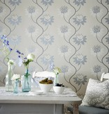 Harlequin Eloise Powder Blue/Harbour Grey 111191 Wallpaper