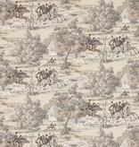 Sanderson Tally Ho Pearl/Grey 214599