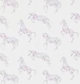 Sanderson Pretty Ponies Pink/Sky 214036