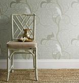 Sanderson Squirrel & Dove Teal/Red Wallpaper