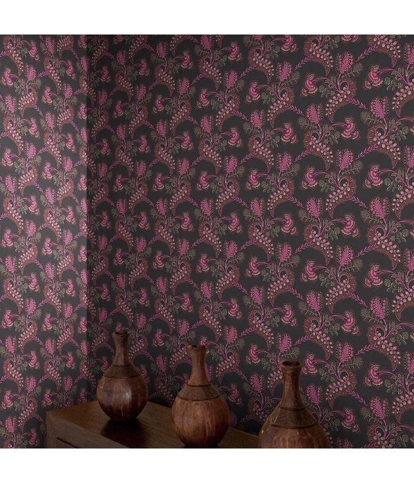 Cole-Son HARTFORD Bruin En Zilver 88/4017 Wallpaper