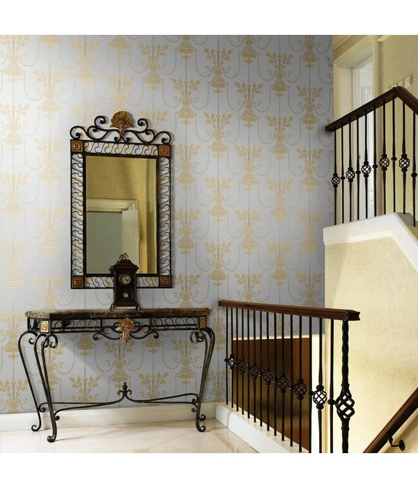 Cole-Son DORSET Zwart En Goud 88/7028 Wallpaper
