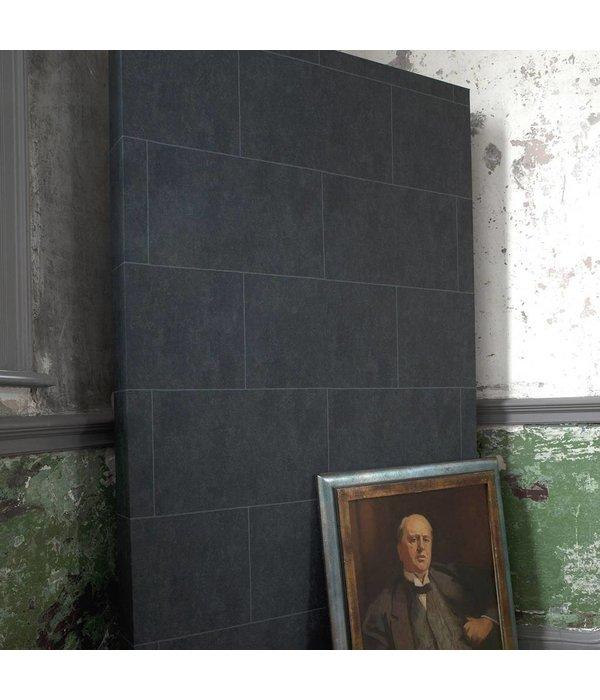 Cole-Son Stone Block Gebroken Wit En Lichtblauw 92/6029 Wallpaper