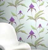Cole-Son Orchid Lichtgrijs En Paars 66/4024 Behang