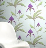 Cole-Son Orchid Violet on Blue 66/4025 Behang