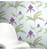 Cole-Son Orchid Lichtgroen En Lichtroze 66/4028 Wallpaper