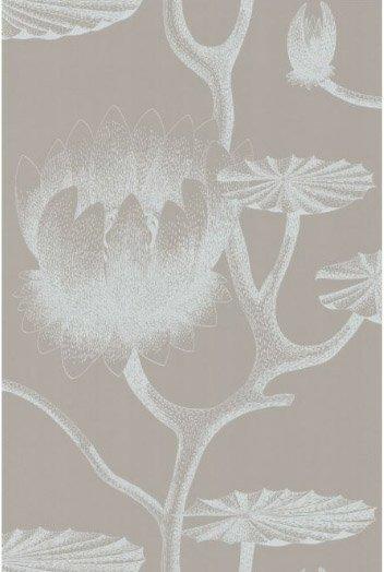 Lily grijs en wit 69 3110 de mooiste muren - Wit behang en grijs ...